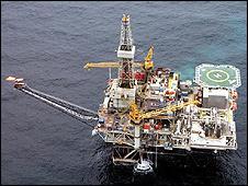 Chirag oil platform (pic: BP Caspian and partners)
