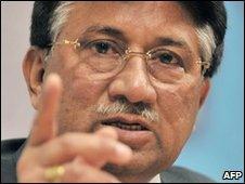 Pervez Musharraf (file photo)