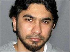Undated US Department of Justice photo of Faisal Shahzad