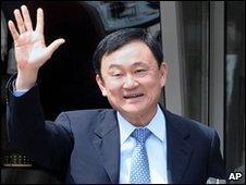Thaksin Shinawatra, in Montenegro on 26 April 2010