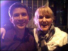 Mark Savage and Camilla Tellefsen