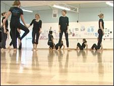School dance studio