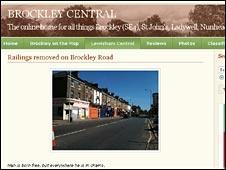 Brockley Central screen grab