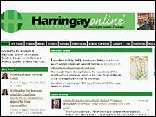 Harringay Online screen grab