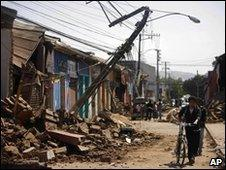 Chilean earthquake aftermath