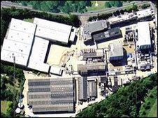 Hauxton factory