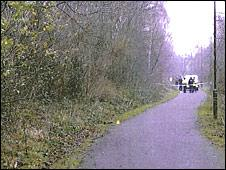 Hawthornvale path