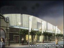 CGI plans for Liberty Wharf