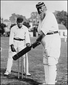 WG Grace, author of a letter auctioned to raise money for a new cricket museum in Cardiff