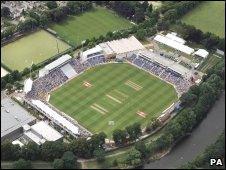 Glamorgan CCC's Swalec Stadium in Cardiff