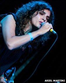 Brazilian singer Ceu
