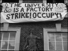 Middlesex University campus occupation