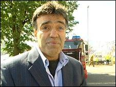 Azher Shareef manager of Property Link that had a sever fire at its Newotn Warehouse in Birmingham