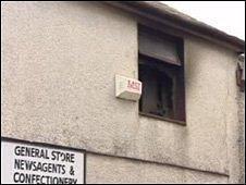 Scene of fire in Caernarfon