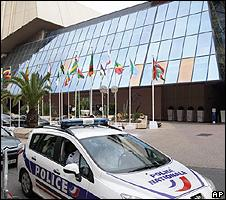 Congress Palace in Nice, southern France - summit venue