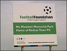 Mo Mowlam Memorial Park sign