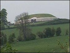 Some people think a by-pass would disturb archaeological sites like Newgrange