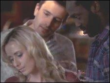 Still from One Step Too Far advert