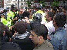 BBC Protesters