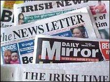 newspaper title