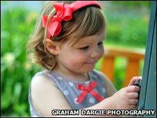 Young girl [Pic: Graham Dargie photography]