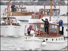 Little ships returning to Ramsgate