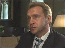 Igor Shuvalov, Russia's first deputy Prime Ministe