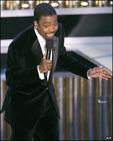 Chris Rock hosts the 2005 Academy Awards