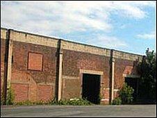 Rhydymwyn Valley wartime building