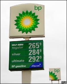 BP filling station
