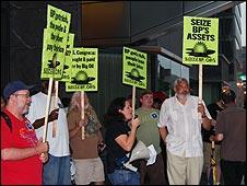 Anti-BP protest in Washington DC