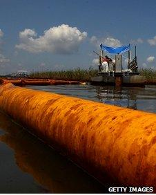 Oil booms and skimmers