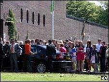 Kieran Goulding funeral service