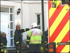 Fire crews at Dale Street, Leamington Spa