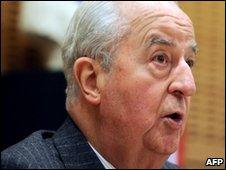 Former French Prime Minister Edouard Balladur on 5 May, 2010.