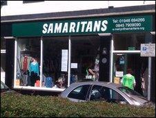 The Samaritans centre in Whitehaven, Cumbria