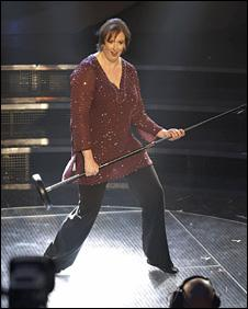 Miranda Hart on Comic Relief Does Fame Academyy