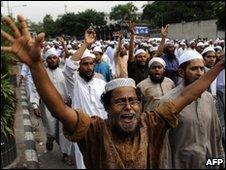 Bangladeshi anti-Facebook demonstration, 28/05