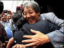 Unidentified Malaysian activist greeted in Jordan
