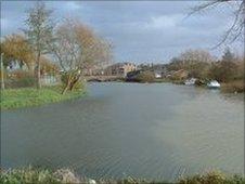 River Nene in Northampton