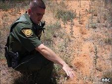 Border Patrol Agent Richard Funke