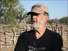 Local militia leader Mike Vyne