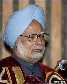 PM Manmohan Singh in Srinagar, 7 June 2010