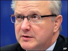 European Economic and Monetary Affairs Commissioner Olli Rehn
