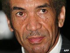 Botswanan President Ian Khama