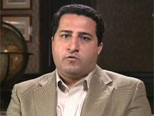 A man claiming to be Shahram Amiri in the YouTube video