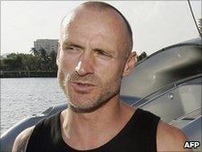 Anti-whaling activist Pete Bethune (file image)