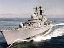HMS Manchester - Royal Navy