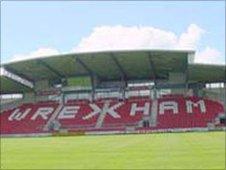 The Racecourse stadium in Wrexham