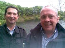 Sandy Whyte and Hugh Black